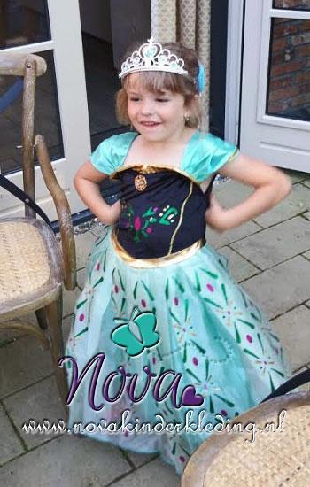 review recensie prinsessenjurk prinses Anna Novakinderkleding