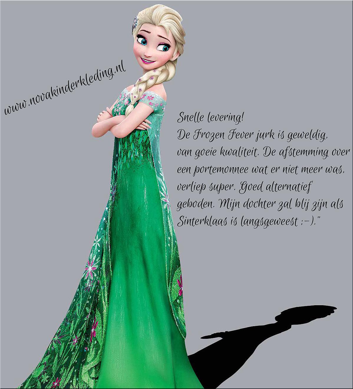 Disney Frozen Fever Prinsessenjurk