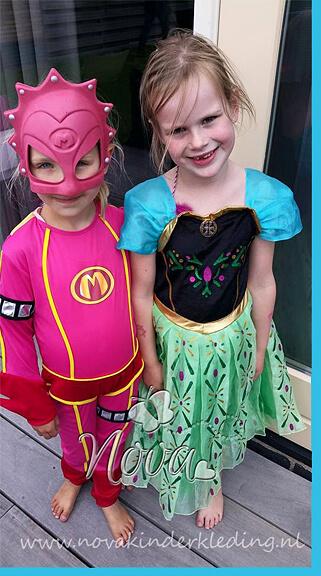 Review Nova Kinderkleding Frozen Anna Jurk