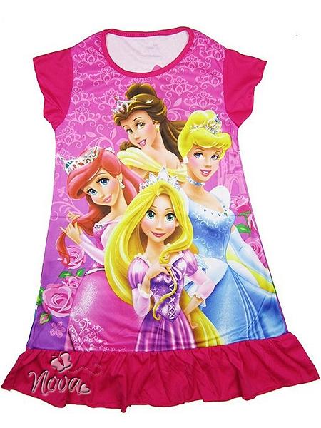Disney Prinsessen Pyjama/Ariël, Cinderella, Rapunzel en BelleNova ...