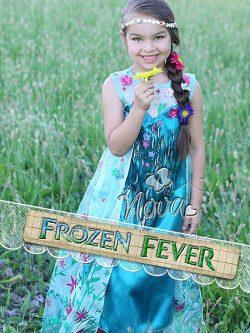 Disney Frozen Fever Elsa Prinsessenjurk