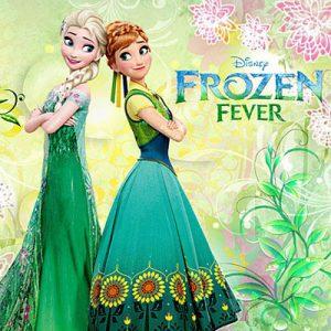 Dinsey Frozen Fever Prinsessenjurk Anna en Elsa jurk