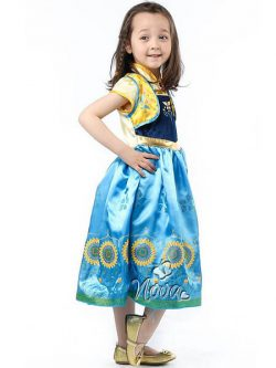 Disney Frozen Fever Jurk Anna