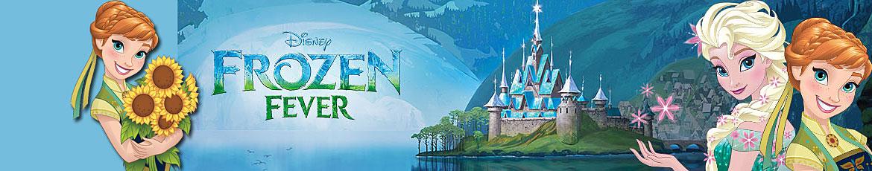 Prinsessenjurk Anna en Elsa Disney Frozen Fever