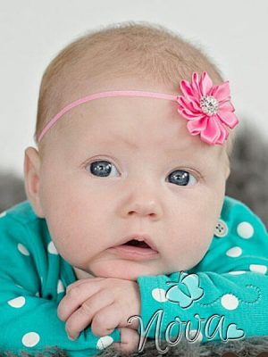 Nova Baby Haarband Bloem Diverse Kleuren