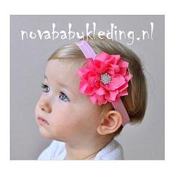Lotus-Bloem-Haarband-Novababykleding