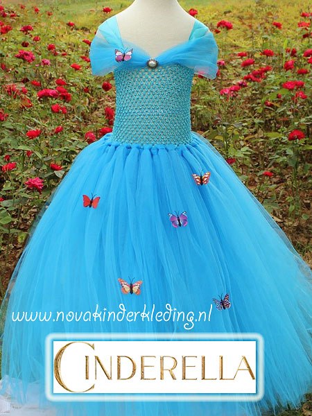 Nova-Cinderella-Assepoester-Tutu-Prinsessenjurk