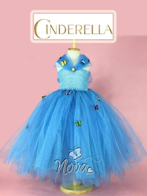 Cinderella Assepoester Prinsessenjurk Feestelijk Kostuum