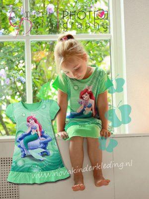 Prinsessenjurk Ariël Pyjama Nachtjapon Nachthemd
