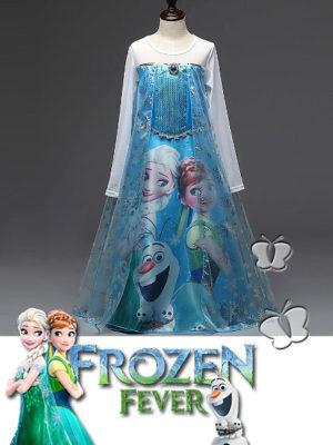 ijsjurk Disney Frozen Prinses Koningin Elsa Frozen Fever