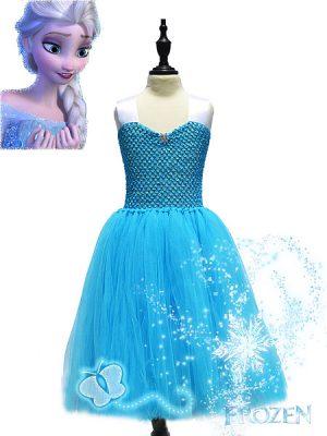 Frozen tutu prinsessenjurk Novakinderkleding