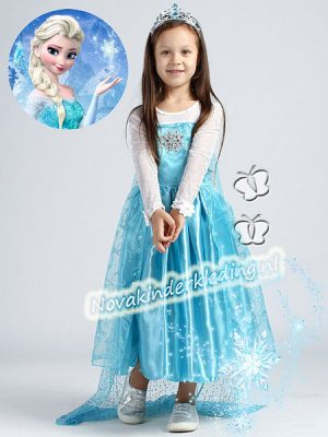 ijsblauw-prinsessenjurk frozen