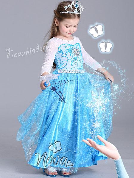Disney Frozen Prinsessenjurk Novakinderkleding Disney Frozen