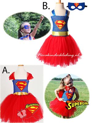 Supergirl-Tutu-Verkleedjurk-Novakinderkleding